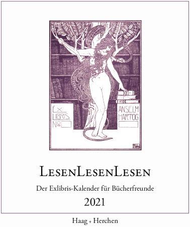 LesenLesenLesen. Exlibris-Kalender